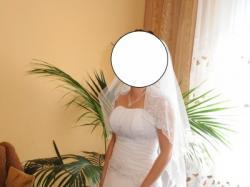 Sprzedam śliczną sukienkę ślubną rozmiar 36/38