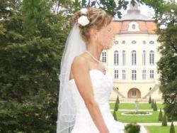 Sprzedam śliczną sukienkę ślubną TANIO