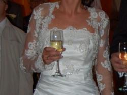 Sprzedam śliczną suknię na wzór LaSposa Santander