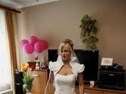 sprzedam sliczną suknie slubną