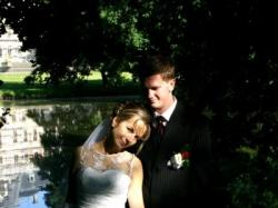 Sprzedam śliczną suknię  ślubną :)