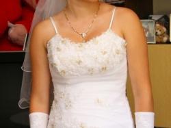 sprzedam śliczną suknie ślubną!!!