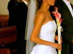 Sprzedam śliczną suknię ślubną