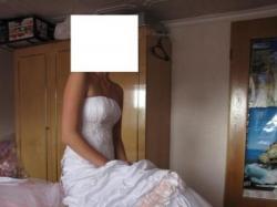 sprzedam śliczna suknię ślubną