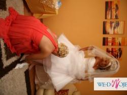 SPRZEDAm ŚLiczną suknie ślubną BIAŁA