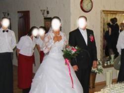 sprzedam sliczna suknie ślubną cena do negocjacji