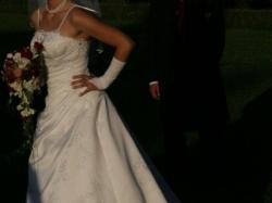 Sprzedam śliczną suknię ślubną Cosmobella