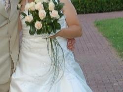 Sprzedam śliczną suknie ślubną firmy estera