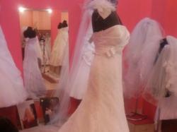 Sprzedam śliczną suknie ślubną firmy Ms Moda