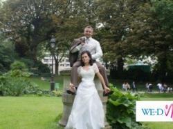 Sprzedam śliczną suknie ślubną kupioną w Paryżu