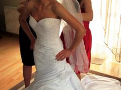 sprzedam śliczną suknię ślubną La Sposa, model Madeira
