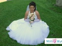 Sprzedam śliczną suknię ślubną Mateja 908