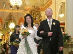 Sprzedam śliczną suknie ślubną model Sposabella 521  z kolekcji 2009