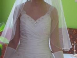 Sprzedam śliczną suknię ślubną - princessę, roz. 38