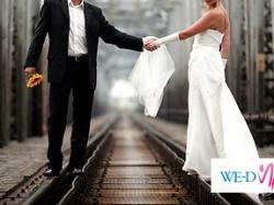 sprzedam śliczną suknię ślubną - roz.38