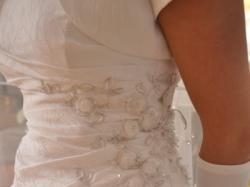 Sprzedam śliczną suknię ślubną rozmiar 36-38(regulacja)
