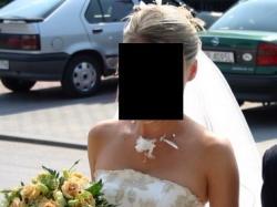 Sprzedam śliczną suknię ślubną rozmiar 36 + dodatki + buty (38)