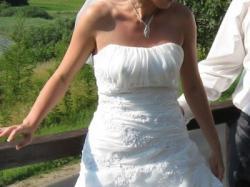 sprzedam sliczna suknie slubna szyta na wzor St. Patrick model Peralta