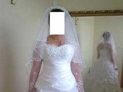 Sprzedam Śliczna suknie ślubna(visual chris model 238b) Polecam..