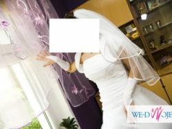 Sprzedam  śliczna suknie  ślubną w atrakcyjnej cenie