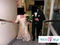 Sprzedam śliczną suknię ślubną z bolerkiem (roz.40)