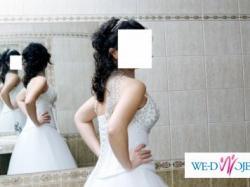 Sprzedam śliczną suknię ślubną z DODATKAMI!!!!!!!