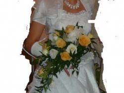 sprzedam śliczną suknię ślubną z dodatkami gratis