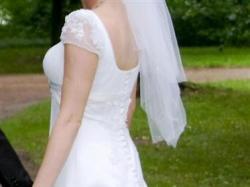 Sprzedam śliczną suknię ślubną z kolekcji Annais Bridal (Kristi) 2009