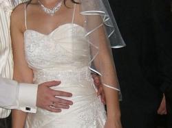 Sprzedam śliczną suknię ślubną z kolekcji glamour!!