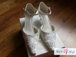 Sprzedam śliczne buty ślubne