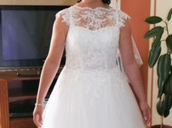 sprzedam ślubną suknię
