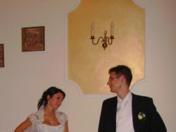 Sprzedam śnieżno-białą piękną suknię ślubną roz.34-36