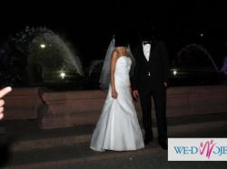 Sprzedam stylową suknię ślubną