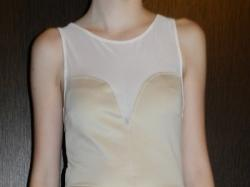 Sprzedam sukienkę baskinkę z ozdobną siateczką