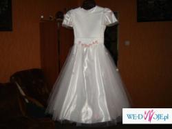 Sprzedam sukienke komunijną