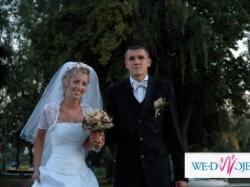 Sprzedam sukienkę ślubną + bolerko