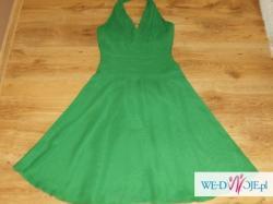 Sprzedam Sukienke W Kolorze Soczystej Zieleni