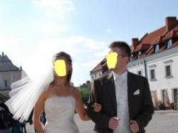 Sprzedam!!! - Suknia ślub rozm.40 (Marines de Paries FASIA)ecru