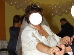 Sprzedam- suknia ślubna dla puszystej rozmiar 52