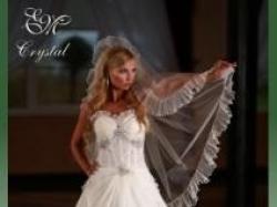 Sprzedam suknia ślubna Emmi Mariage Crystal Svarowski Lodz