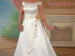 Sprzedam - Suknia Ślubna Polsanta rozmiar 36/38 + SUPER GRATIS!!