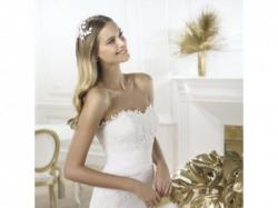 Sprzedam - suknia ślubna PRONOVIAS - Lambina. Rozmiar 34/36