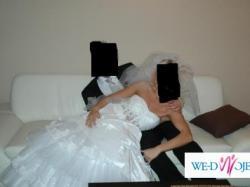 Sprzedam-Suknia Ślubna roz.38, stan b.dobry cena 700 zł