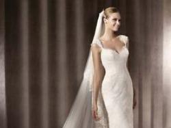 sprzedam suknię białą Pronovias Balta