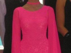 sprzedam suknię do ST niezdobiona 160cm