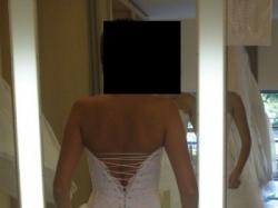 sprzedam suknię Maggio Ramatti, model DIAMOND w kolorze białym