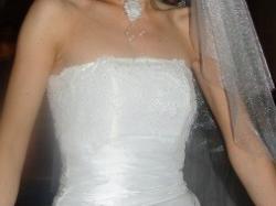 Sprzedam suknie MICHELLE rozmiar 36/38 powiększającą biust :)