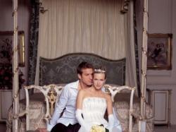 Sprzedam suknię Sincerity 3149 z odpinanym trenem