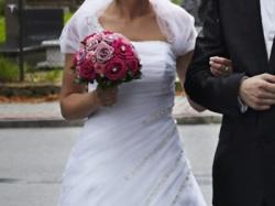 Sprzedam Suknie ślubą WARTO!!!!