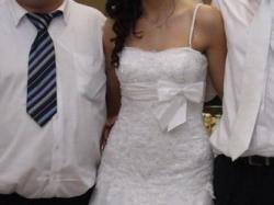 Sprzedam suknię ślubn Annais  Bridal model Bonnie, rozmiar 38, biała